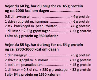 hvor får man proteiner fra