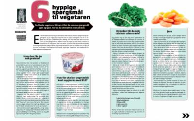 Hyppige vegetarspørgsmål