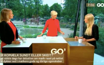 Mælkedebat i Go' Morgen DK