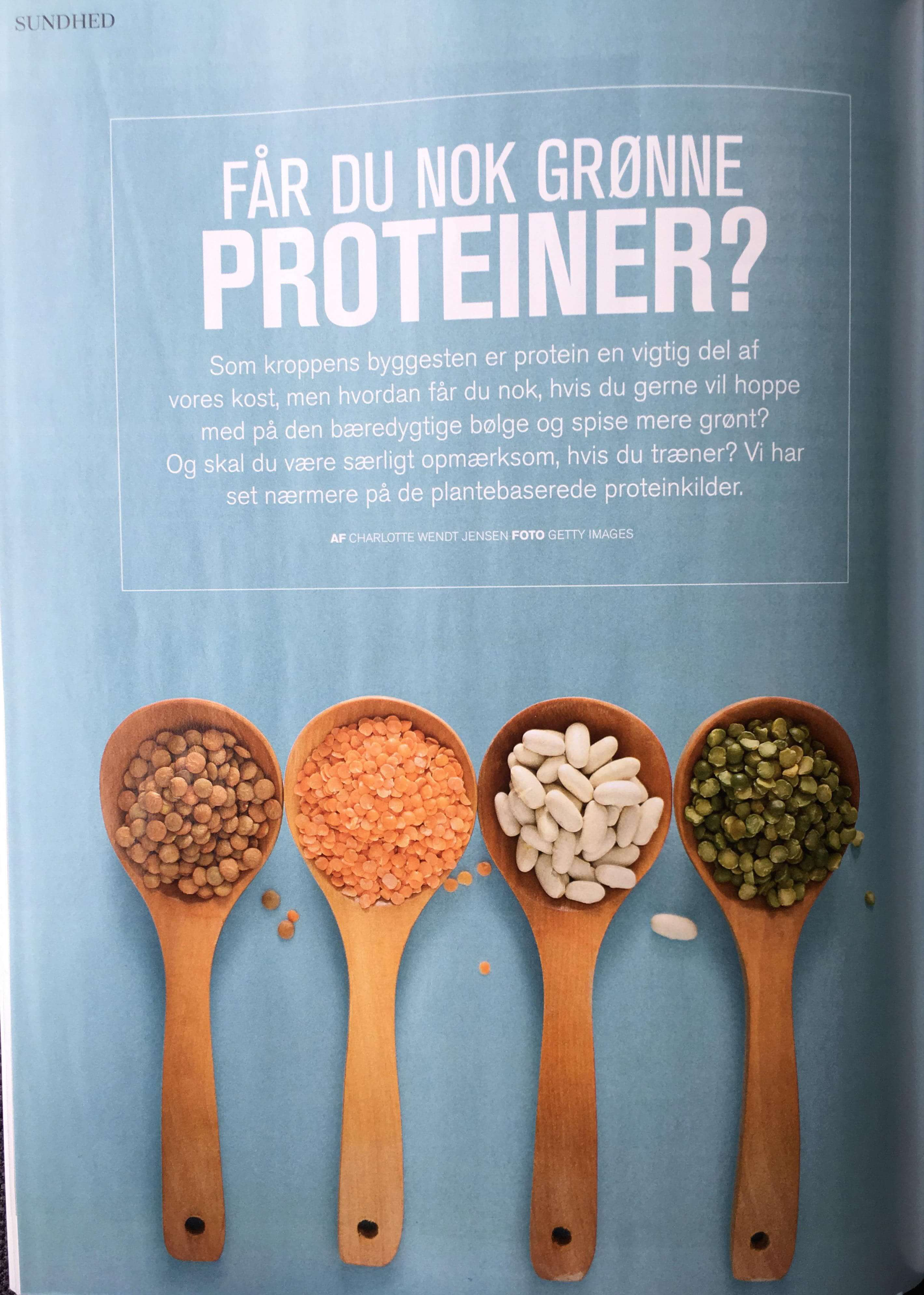 Dejlig Grønne proteiner, Fitliving - Diætist Felding SZ-14