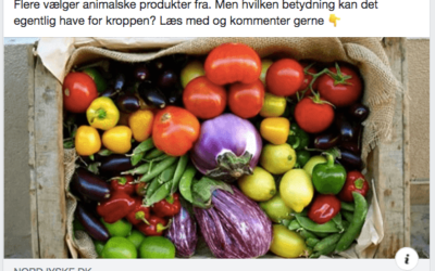 Modsvar til artikel om vegansk kost i Nordjyske