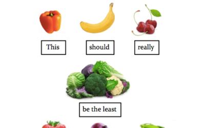 Kalorier i frugt og grønt