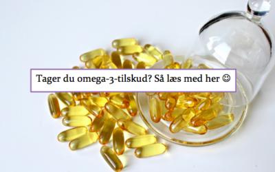 Hvilket omega-3 tilskud bør man vælge?