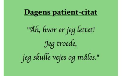 Dagens patientcitat (2)
