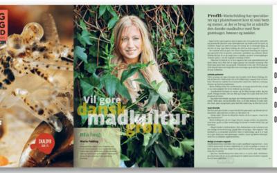 Interview i Kost- og Ernæringsforbundets medlemsblad