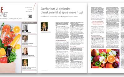 Artikel i Lægemagasinet, frugt