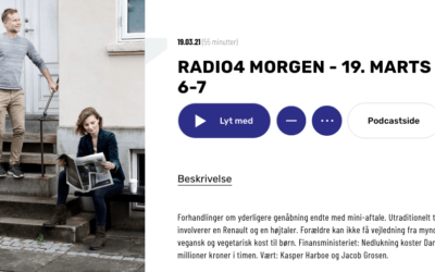Interview i Radio4 Morgen